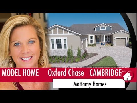 Winter Garden New Homes - Oxford Chase by Mattamy Homes - Cambridge Model