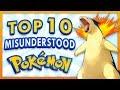 Top 10 Misunderstood Pokemon