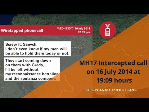 1. Intercepted call on 16 July 2014 at 19:09 hours