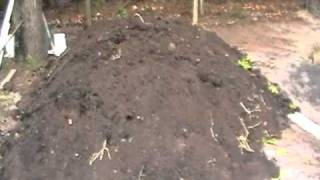 6 Cubic Yards; 3 mushroom & 3 top soil.