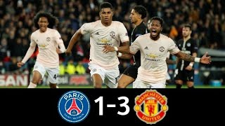 PSG vs Manchester United 1-3 |Champions League 2018 - 19