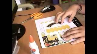 Koro-sensei's :Papercraft