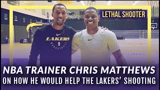 LN Interview: Chris Matthews aka Lethal Shooter On How He Can Help The Lakers' Shooting
