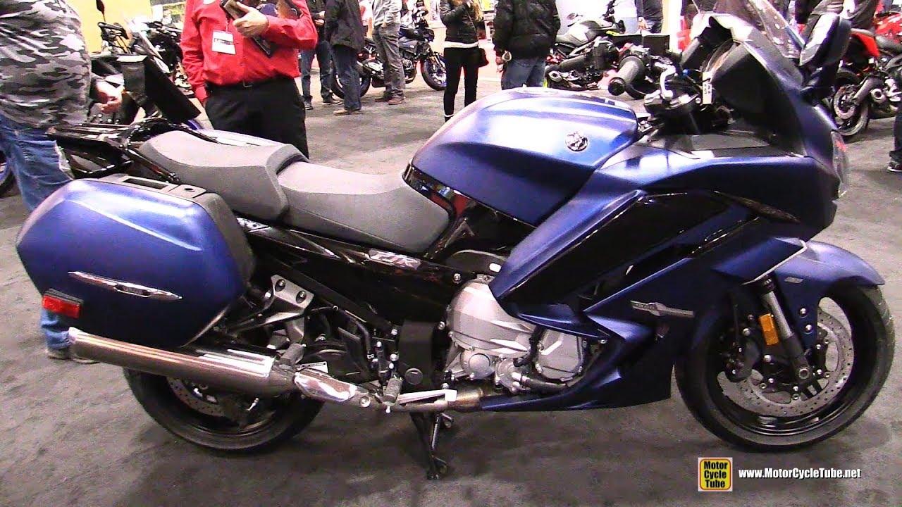 2018 yamaha fjr 1300 walkaround 2018 toronto motorcycle show youtube. Black Bedroom Furniture Sets. Home Design Ideas