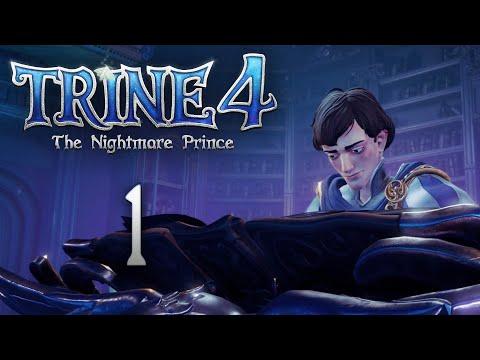 Trine 4: The Nightmare Prince - Кооперативное прохождение игры - Зимнее утро [#1] | PC