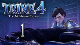 Trine 4: The Nightmare Prince - Кооперативное прохождение игры - Зимнее утро [#1]   PC