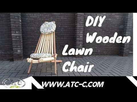 easy-design-chair-//-how-to-make-a-folding-chair-//-diy