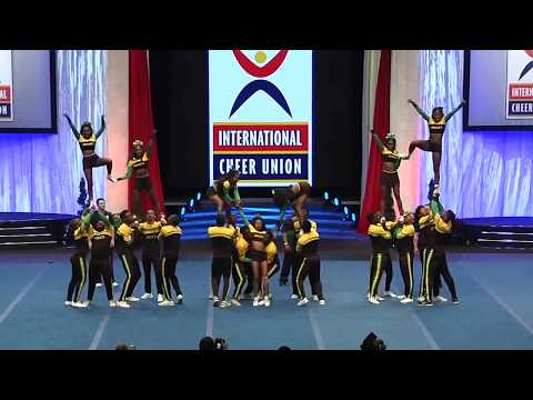 Team Jamaica Cheer (Semi Final) ICU Worlds 2017