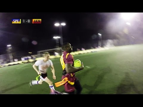 Tag Rugby Mixed Super League Round 1 (Spring 2015) - Speight's v Akuma Mataggers