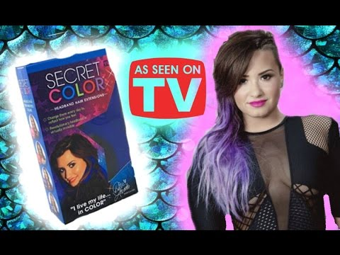 Testing demi lovato as seen on tv secret color hair extensions testing demi lovato as seen on tv secret color hair extensions retry tutorial review and demo pmusecretfo Image collections