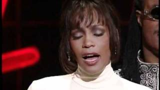 Whitney Houston Receives Award of Merit - AMA 1994