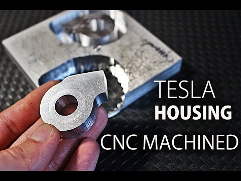 Aluminum CNC Machining with Shapeoko 3 | Tesla Turbine Housing
