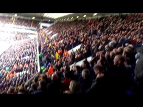 ANTHONY MARTIAL SONG AT SPURS AWAY. MUFC FANS
