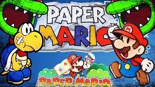 Ретро-обзор - Paper Mario [N64/Wii U]