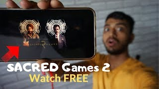 Sacred Games Season 2(full HD) Watch & Download for Free (100% WORKING)