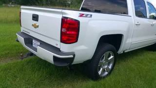 2016 chevrolet silverado with flowmaster 40 series muffler.