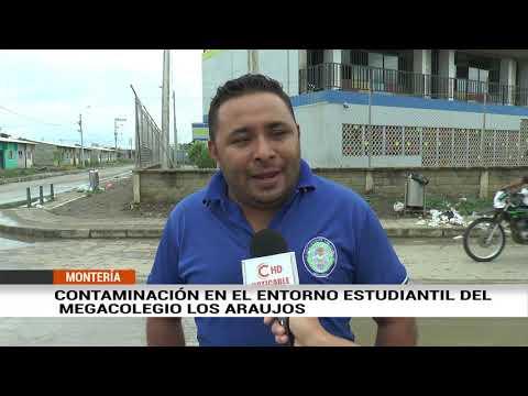 CONTAMINACIÓN EN EL ENTORNO ESTUDIANTIL DEL MEGACOLEGIO LOS ARAUJOS