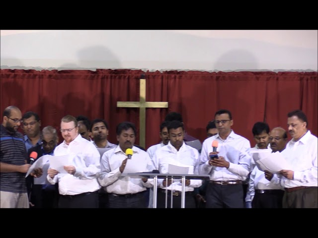 ACFI: Mens fellowship song on good friday 2018 - At the Cross