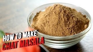 How To Make Chat Masala | The Bombay Chef - Varun Inamdar | Basic Cooking