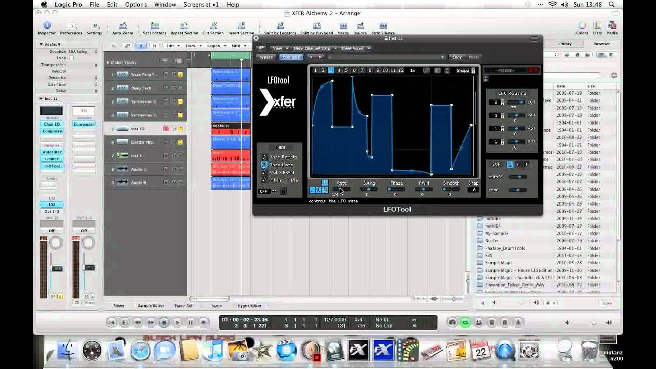 XFER LFO Tool does it all!