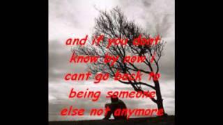 try it on my own lyrics-whitney houston