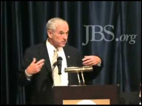 Ron Paul on Larry McDonald, President of the John Birch Society