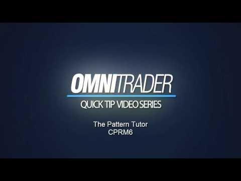 OmniTrader's Pattern Tutor - Chart Pattern Recognition Module