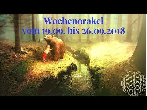 Wochenorakel vom 19.09. bis 26.09.2018 / Orakel für September