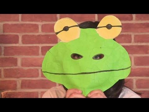 Frog Mask Craft