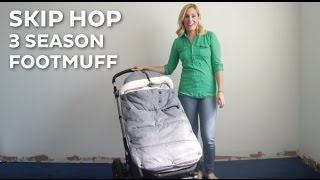 New Skip Hop 3 Season Footmuff