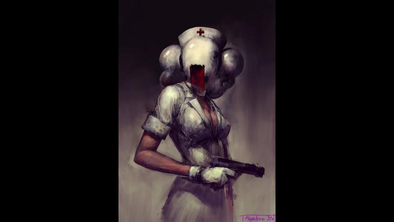 Silent Hill 2 All Concept Art Pyramid Head And Bubble Head