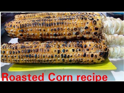 Roasted Corn recipe by Kitchen with Rehana