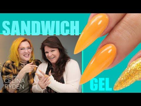 Sandwich Technique Gel Nails