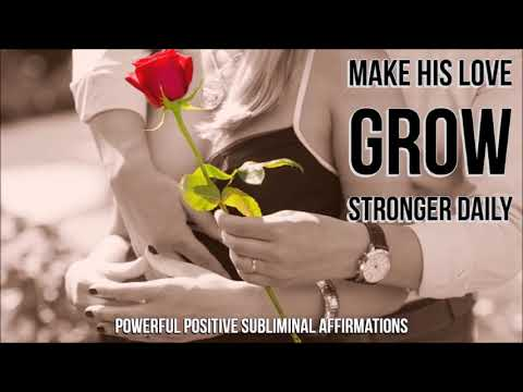 How to make love grow stronger