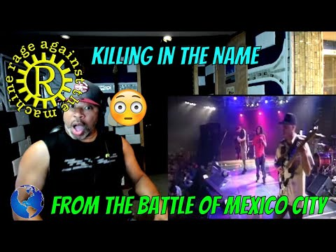 Rage Against The Machine   Killing in the Name from The Battle Of Mexico City – Producer Reaction