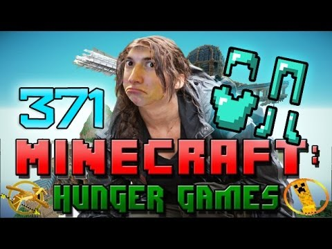 Minecraft: Hunger Games w/Mitch! Game 371 - DIAMONDS FOR DAYS!