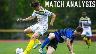 Match Performance Analysis Episode One | Creating Chances | Right Wing (White #10)