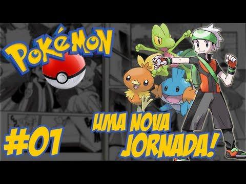 Pokémon Emerald - Temos que Pegar #1 / Um Novo Começo / As Aventuras de Gostoso!!
