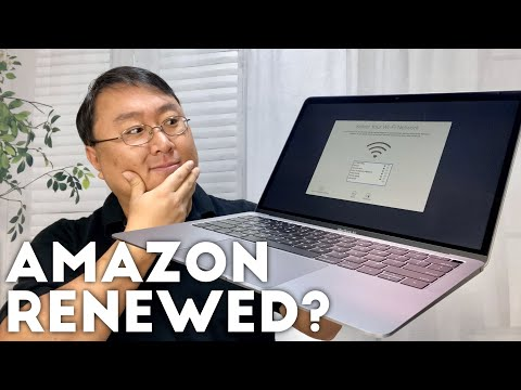 What Is An Amazon Renewed Laptop Like?