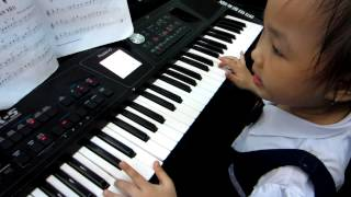 Organ Thiếu Nhi - Cha Thân Yêu - Bé Ánh Huyền