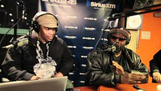 Killer Mike and EL-P freestyle on #SwayInTheMorning