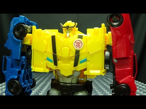 Robots in Disguise Combiner Force ULTRA BEE: EmGo's Transformers Reviews N' Stuff