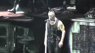 Rammstein LIVE Wollt Ihr Das Bett In Flammen Sehen - Bratislava, Slovakia - 2011-11-06