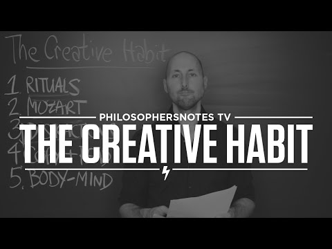 PNTV: The Creative Habit by Twyla Tharp