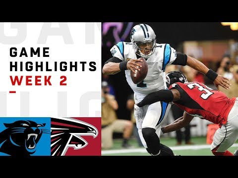 Panthers vs. Falcons Week 2 Highlights   NFL 2018