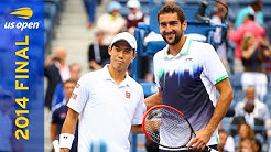 Marin Čilić vs Kei Nishikori Full Match | US Open 2014 Final