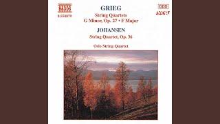 Play String Quartet No. 1 In G Minor, Op. 27 Ii. Romanze Andantino - Allegro Agitato (Oslo Quartet)