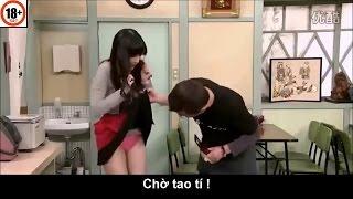 Hài Nhật Bản - Ai là kẻ biến thái - Hài Bựa - tốc váy em gái xinh