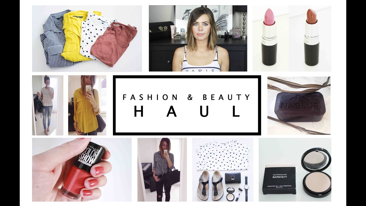 FASHION & BEAUTY HAUL Sommer / Herbst + Try On / Anprobe