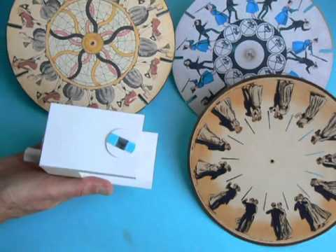 Papercraft Phenakistoscope, a paper model